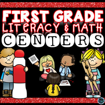 Math and Literacy Centers First Grade