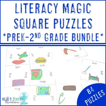 Literacy Center Games: K-2 Year Long Resources