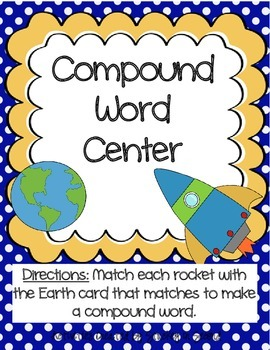 Literacy Centers 3-2 (Long i Phonics, Compound Words, Present Tense Verbs)