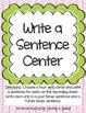 Literacy Centers 3-3 (Long o Phonics, Verbs, Past/Future Tense Verbs)