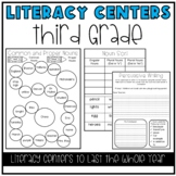 Literacy Centers for 3rd Grade