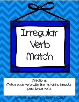 Literacy Centers 4-3 (r-Controlled Vowels, Irregular Verbs, Book Titles)