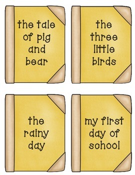 Literacy Centers 5-5 (Short Vowel Digraphs, Mult Meaning Words, Book Titles)