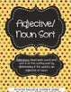 Literacy Centers 6-1 (Adjective/Noun Sort, Series)