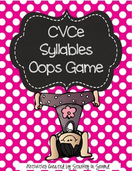 Literacy Centers 6-2 (Conventions, Syllables)