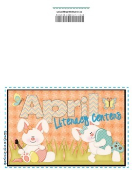 Literacy Centers- APRIL