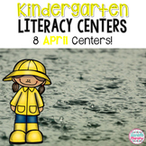 April Kindergarten Literacy Centers