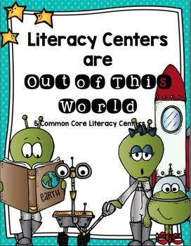 Literacy Centers Are Out Of This World