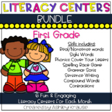 #lastday Literacy Centers - BUNDLE 1st Grade