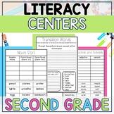 Literacy Centers BUNDLE (2nd Grade Year-Long Set)
