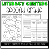 Literacy Centers BUNDLE (2nd Grade Year-Long Set)
