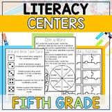 Literacy Centers BUNDLE (5th Grade Year-Long Set)