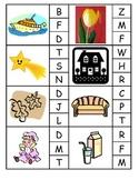 Literacy Centers ~ Beginning Sounds ~ Assessment