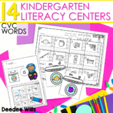 Literacy Centers:  CVC Word Families