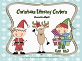 Literacy Centers-Christmas Themed (Common Core Aligned)