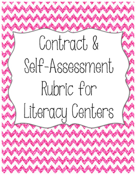 Literacy Centers Contract and Rubric