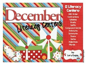 Literacy Centers - DECEMBER