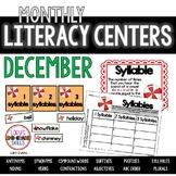 Literacy Centers - DECEMBER