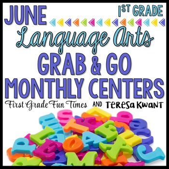 Literacy Centers End of  Year Activities