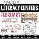 Literacy Centers- FEBRUARY
