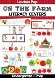Farm Literacy Centers for Kindergarten