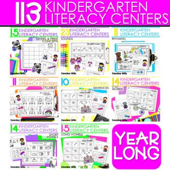 Literacy Centers:  GROWING BUNDLE