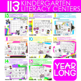 Literacy Centers:  GROWING BUNDLE