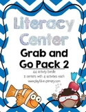 Literacy Centers Grab and Go Mega Pack 2