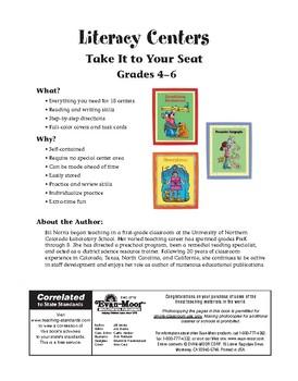 Literacy Centers, Grades 4-6