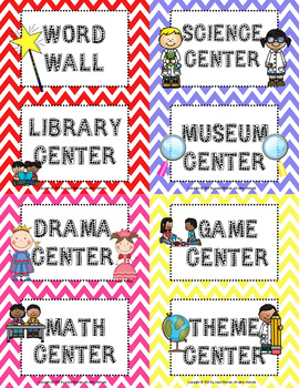Launching Literacy Centers: I Can Cards, Center Icons and Templates
