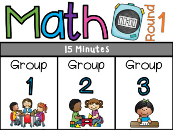 Literacy Centers & Guided Math Rotation Boards (PowerPoint