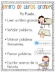 """Literacy Centers """"I Can"""" Posters (Bilingual)"""