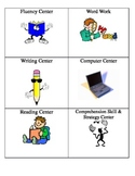 Literacy Centers Icons