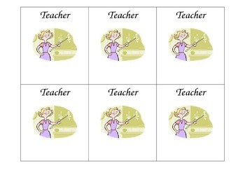 Literacy Centers Icons and Schedule