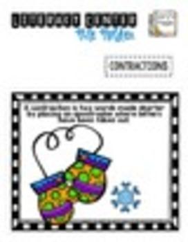 File Folder Literacy Centers- JANUARY