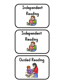 Literacy Centers (Labels)