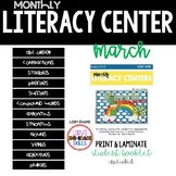 Literacy Centers- MARCH