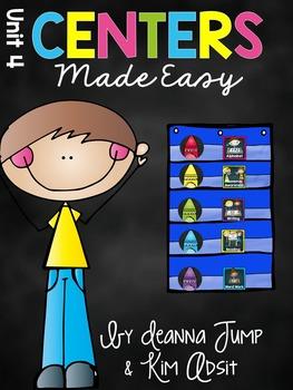 Kindergarten Literacy Centers Made Easy Unit 4 {December}
