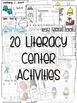Kindergarten Literacy Centers Made Easy Unit 5 {January}