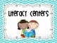 Literacy Centers Management Board {Chevron}