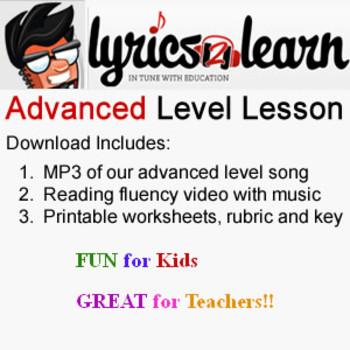 Literacy Centers | Niagra Falls Lesson by Lyrics2Learn