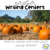 Literacy Centers:  October Writing Center