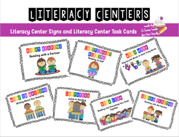 Literacy Centers Pack