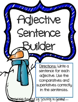 Literacy Centers Pack- Adjectives, Idioms, Syllables 6-2