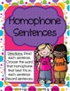 Literacy Centers Pack- Cause and Effect, Homophones, Syllables 4-4