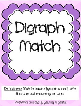Literacy Centers Pack- Similes, Digraphs, Possessive Nouns 2-5