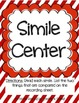 Literacy Centers Pack-Similes, Singular and Plural Nouns 2-2
