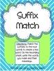 Literacy Centers Pack- Suffixes, Combining Sentences, Sequ