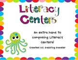 Literacy Centers Packet