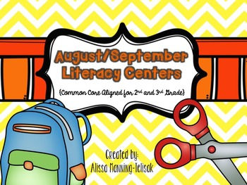 Literacy Centers Part 1 {2nd and 3rd Grade Common Core Aligned}